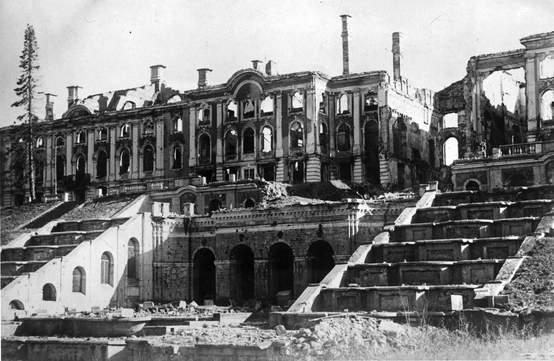 архивное фото блокадного Ленинграда