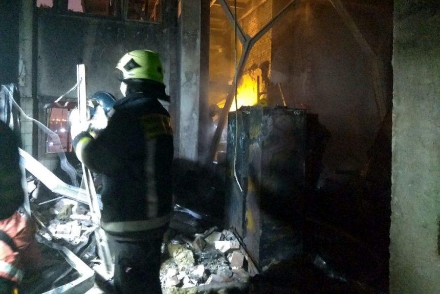 пожар газетный комплекс Ленинский проспект 139 пожарный