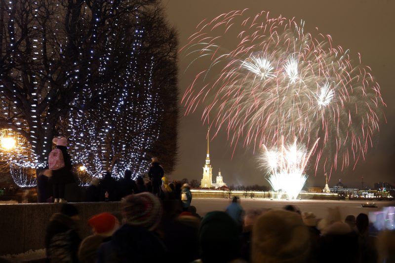 новый год 2019 новогодние праздники фейерверк