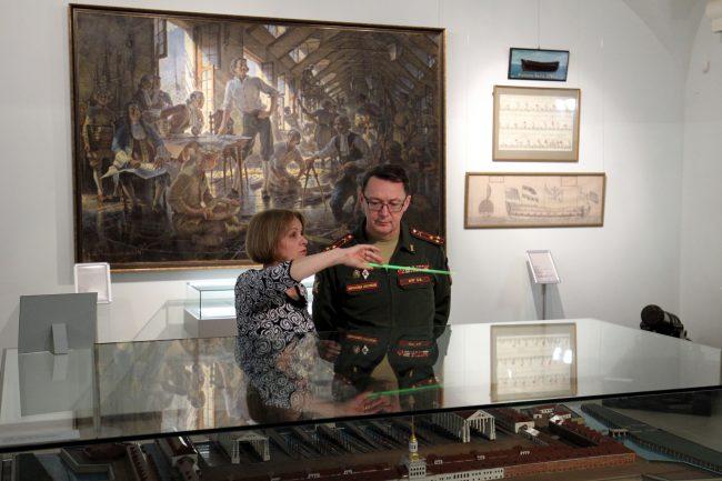 Центральный военно-морской музей ЦВММ 310 лет
