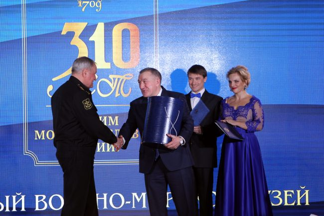 Центральный военно-морской музей ЦВММ 310 лет Владимир Королёв Руслан Нехай