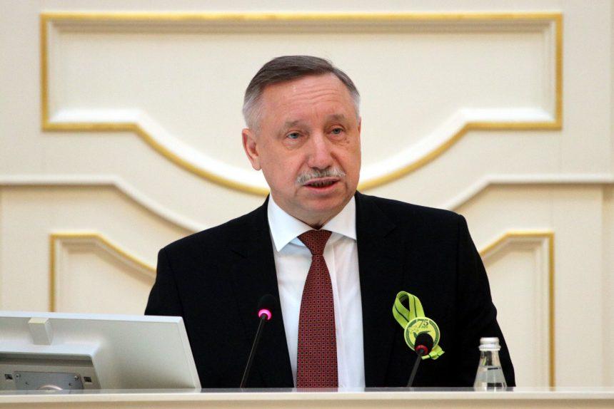 Беглов открыл форум студенческих отрядов Петербурга