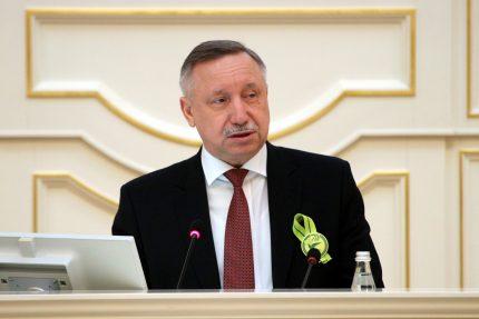 Путин включил Беглова в состав Совбеза РФ