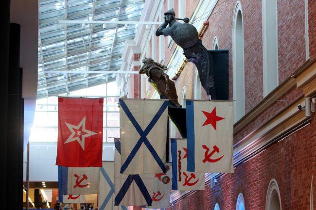 Центральный военно-морской музей ЦВММ 310 лет флаги