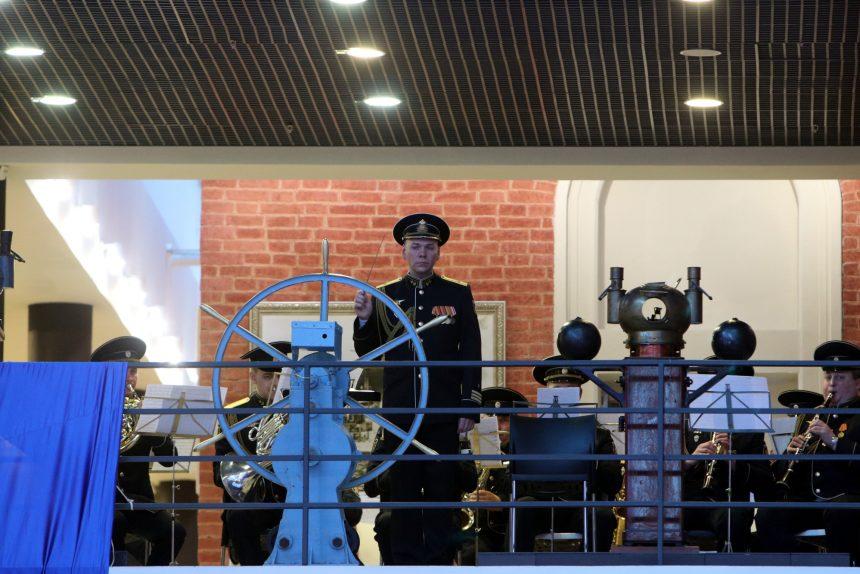 Центральный военно-морской музей ЦВММ 310 лет военный оркестр