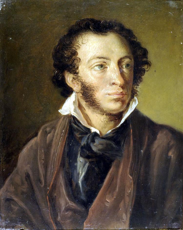 картинка портрет пушкина новых друзей городе