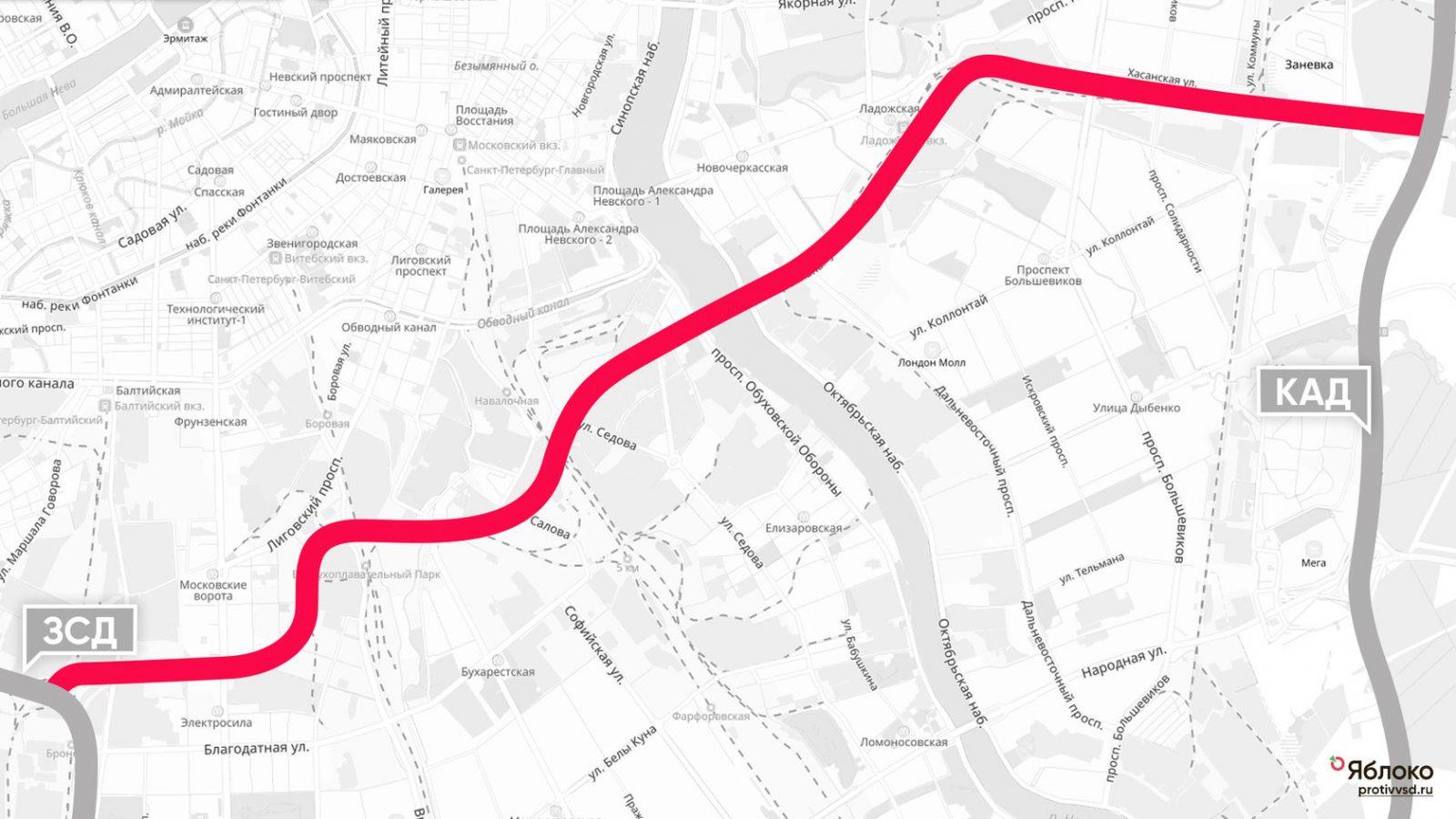 ВСД: нужна ли Петербургу ещё одна скоростная магистраль и какой ценой?