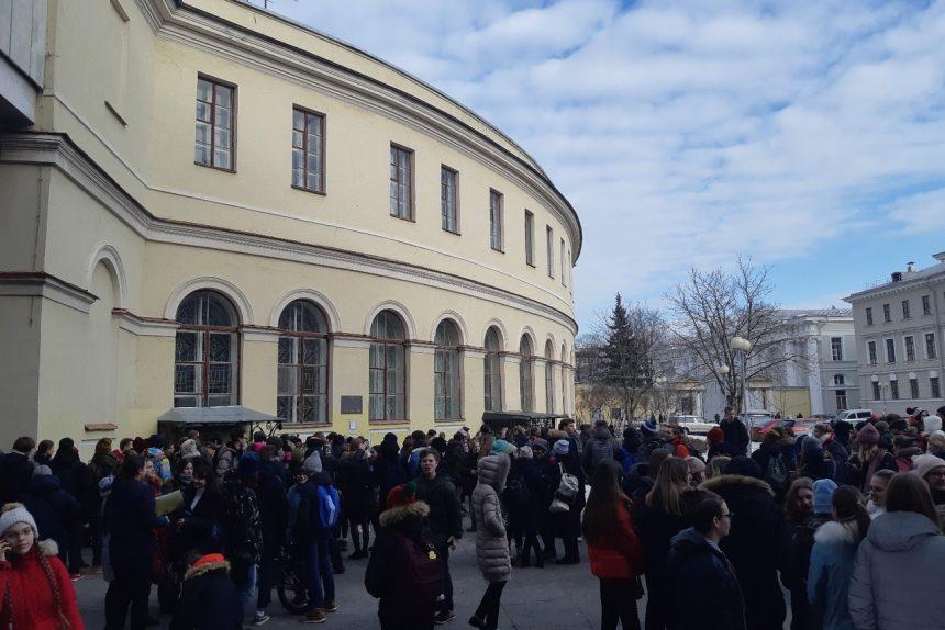 телефонный терроризм эвакуация дворец творчества юных дом пионеров