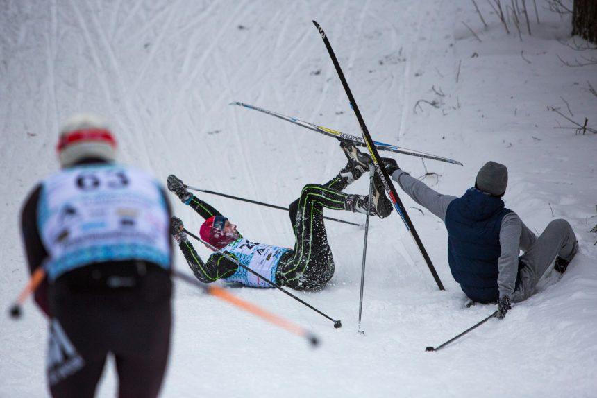 лыжный спорт токсовский марафон