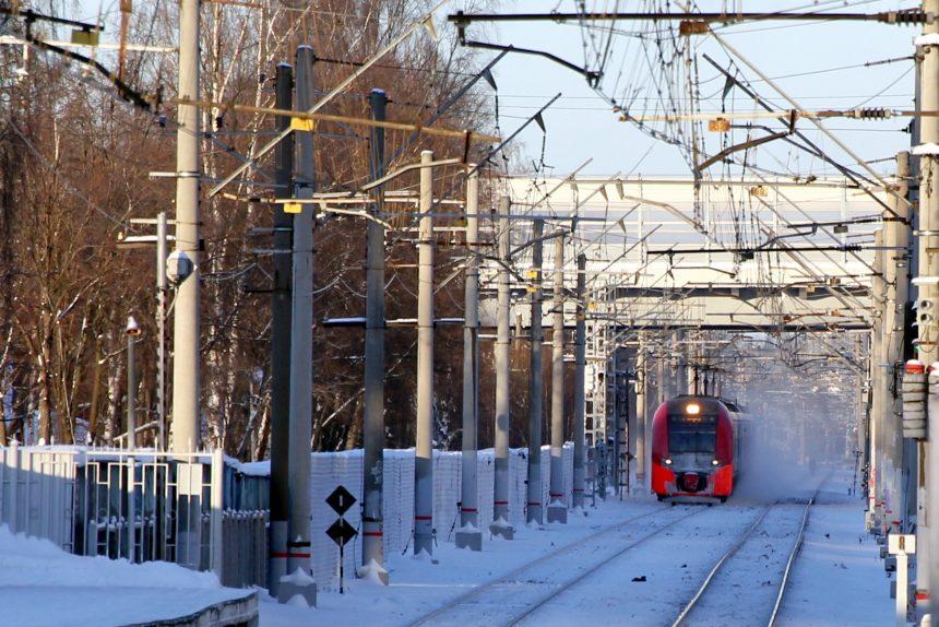 электричка Ласточка железная дорога