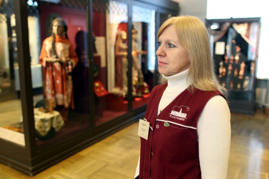 Кунсткамера музей антропологии и этнографии смотритель Алла Куликова