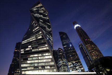 Москва сити небоскрёбы