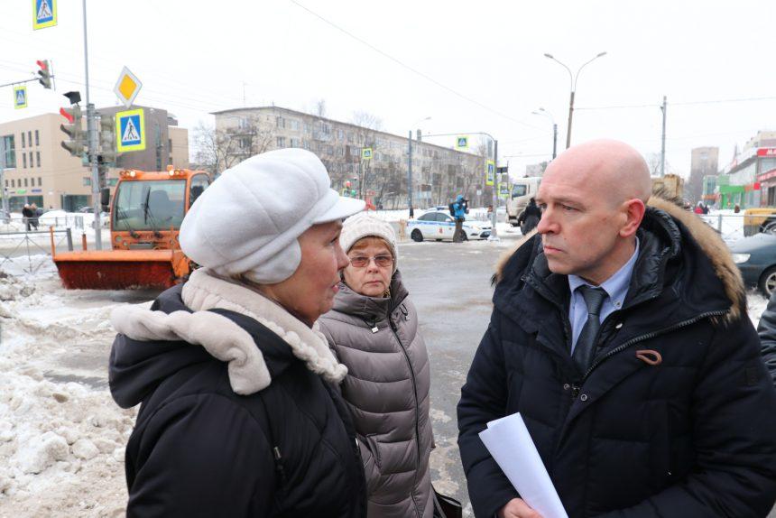 Константин Серов общение с жителями