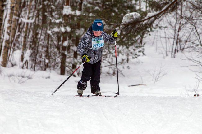 лыжный спорт токсовский марафон детский спорт