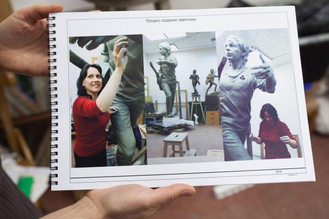 Башлачёв, памятник, скульптура