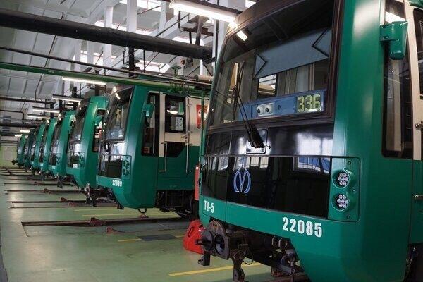 метро вагон