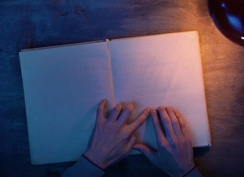 слепой слепые шрифт брайля