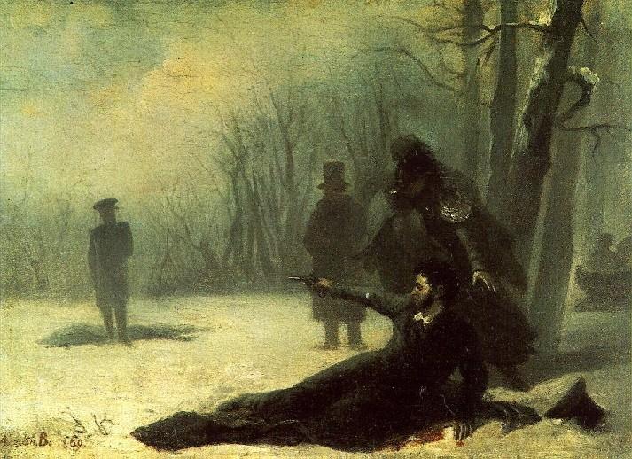 Последняя дуэль поэта: смертельно опасный ритуал, его история и правила