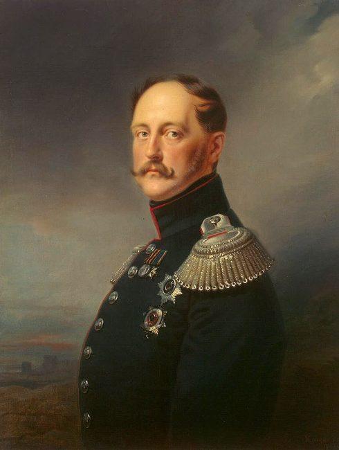 царь император Николай I Первый
