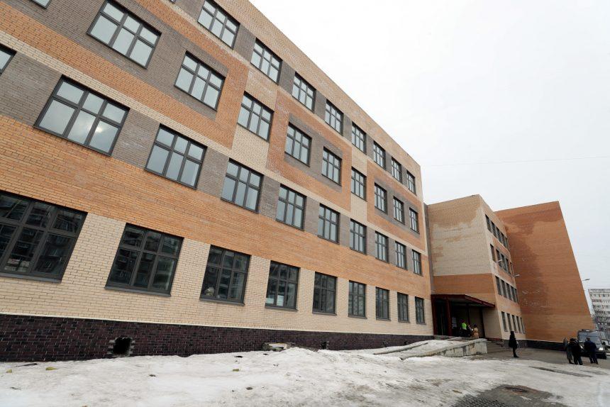 школа 110 строительство