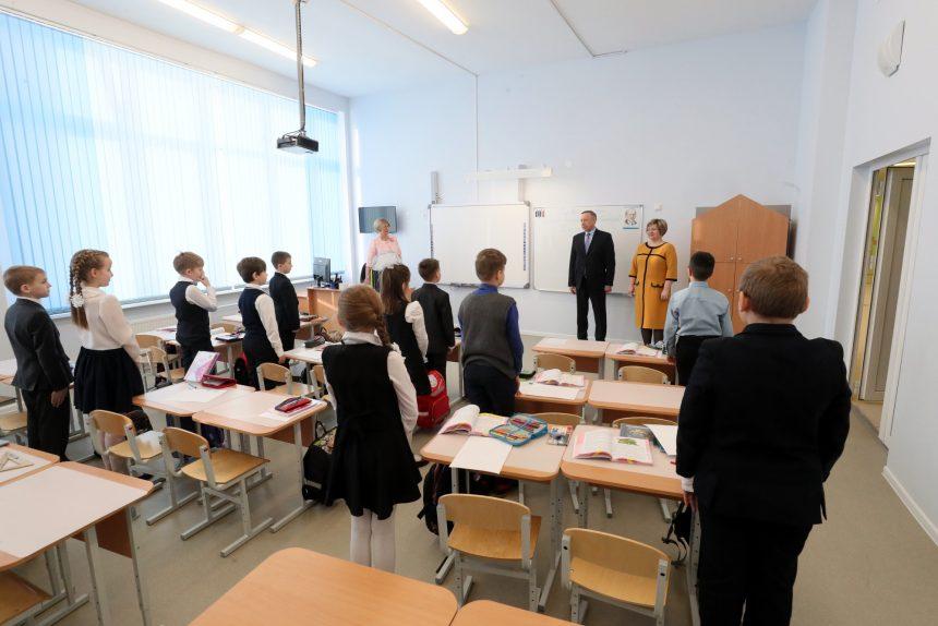 школа дети Беглов