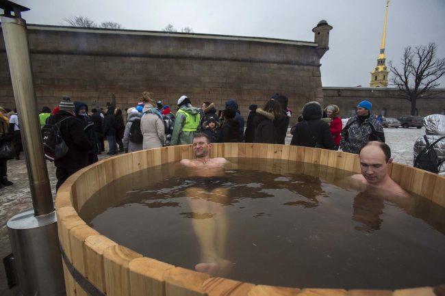 Кубок Большой Невы зимнее плавание