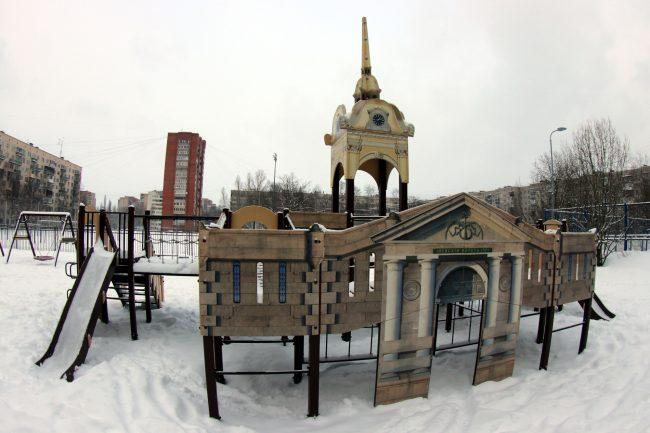детская площадка петропавловская крепость
