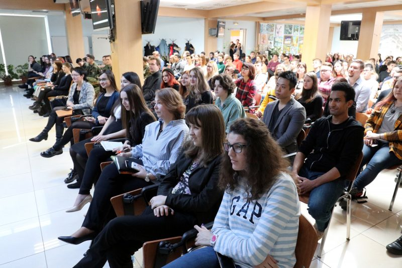 Политехнический университет лекция студенты