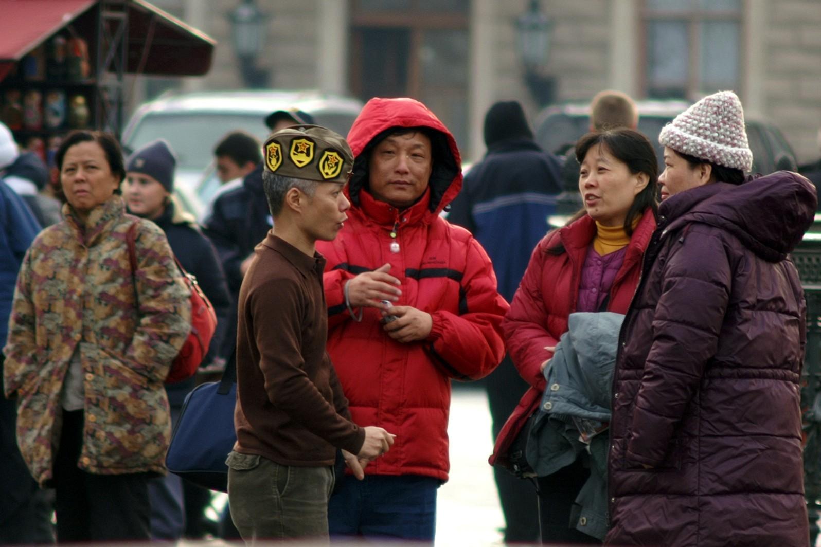 иностранные туристы китайцы туризм