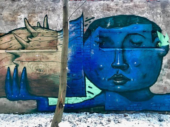 """В """"Севкабель Порту"""" появилось новое граффити"""