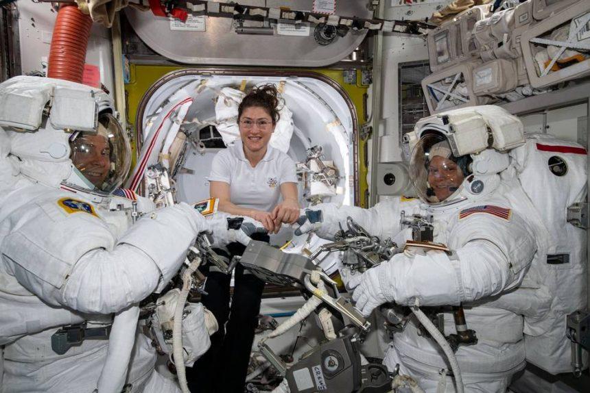 кристина кох энн макклейн астронавты космос NASA