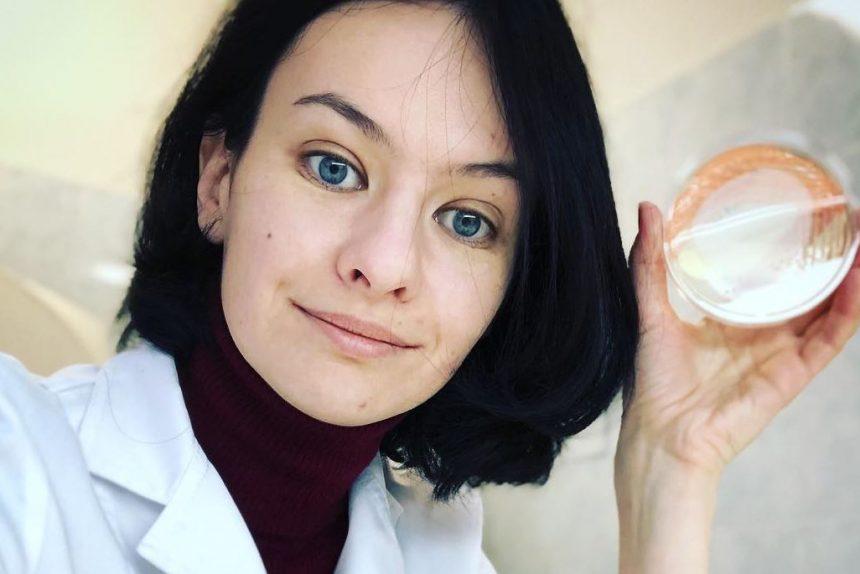 учёный, микромир