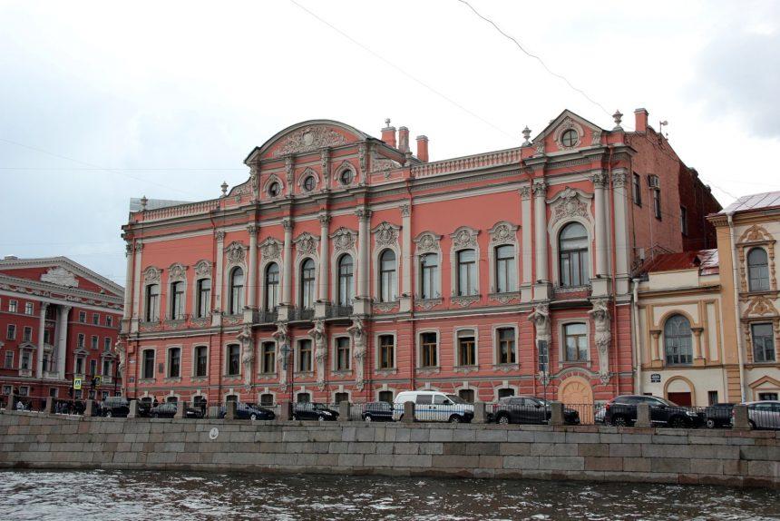 дворец Белосельских-Белозерских река Фонтанка