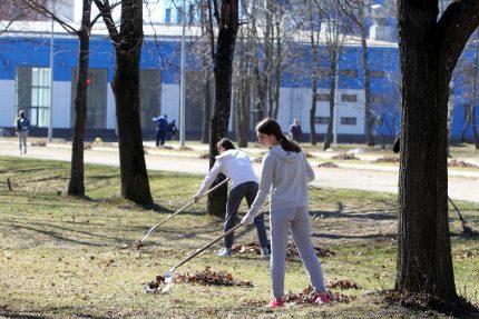В Петербурге прошёл День благоустройства
