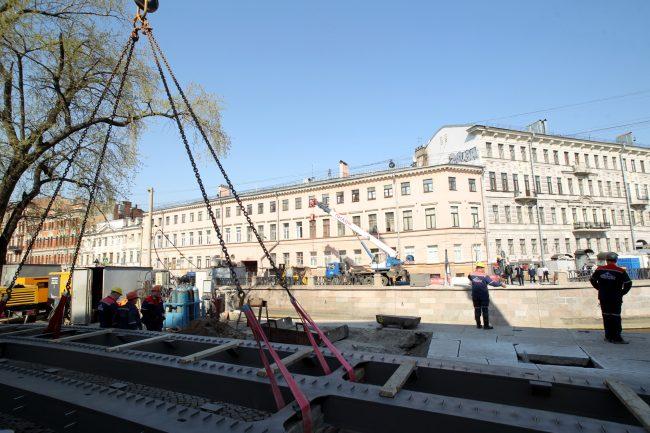 Банковский мост реконструкция реставрация