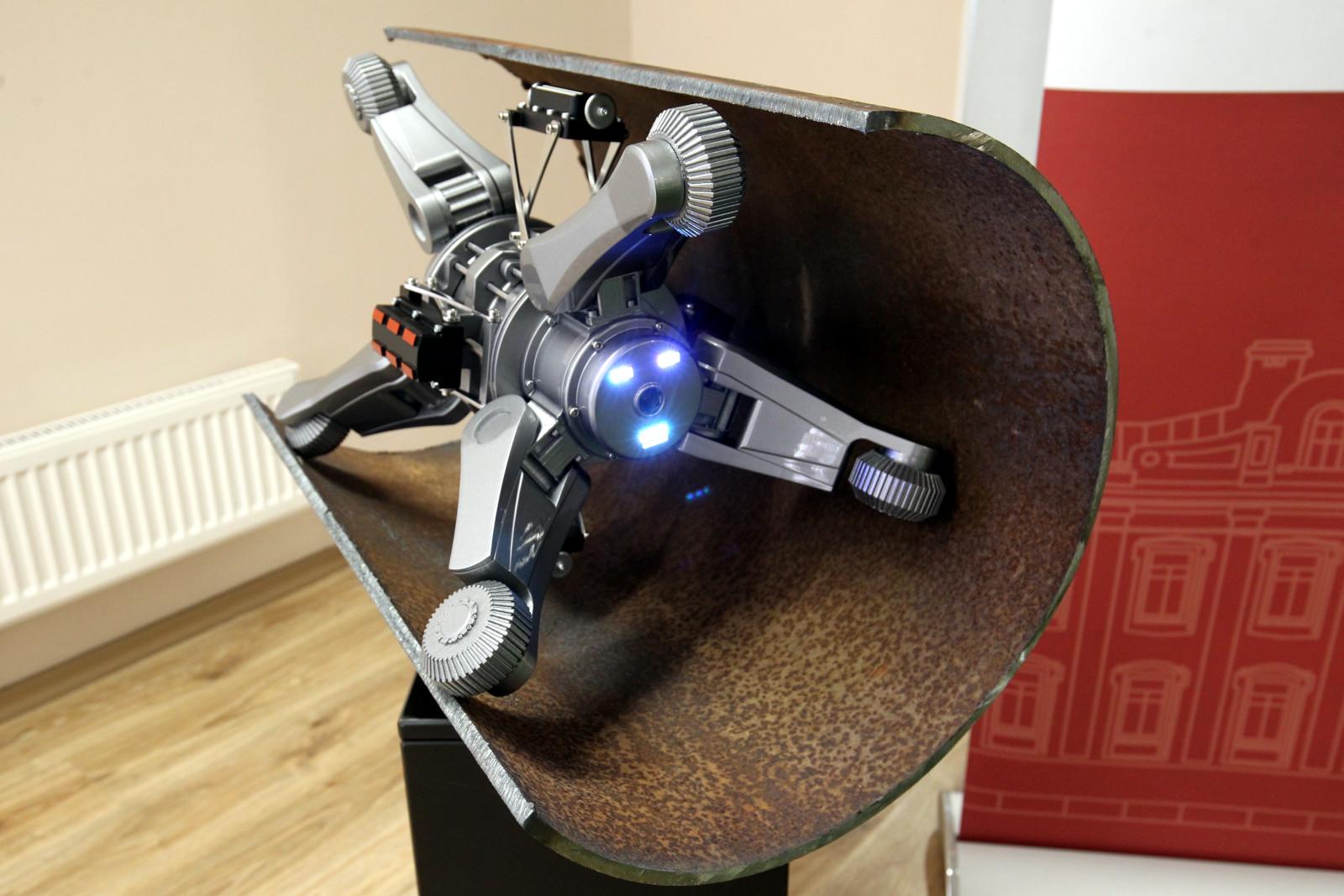робот диагностика тепловых сетей СПбГУ