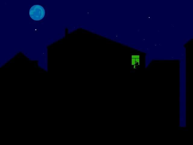 масяня, ночь