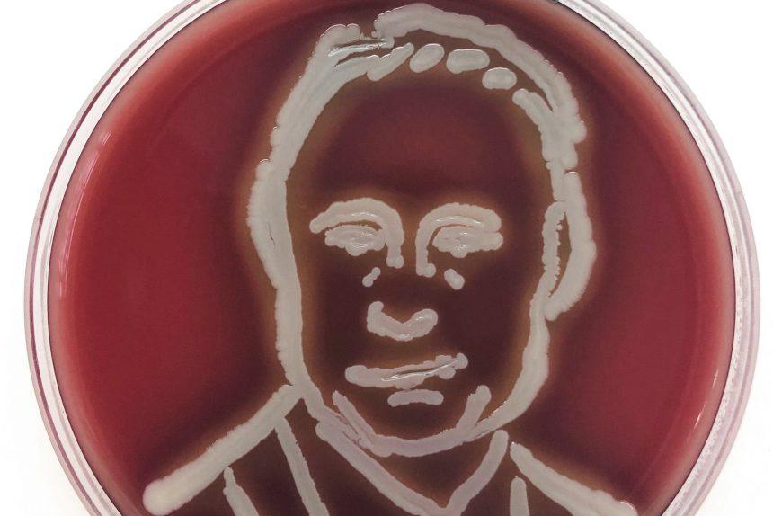 Путин, микроб
