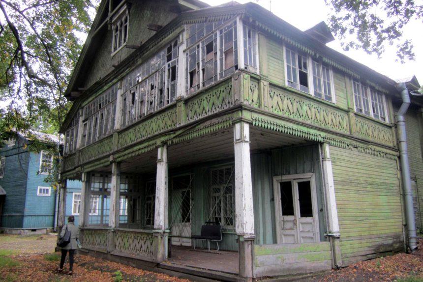 дача озерки деревянное здание снесённый памятник