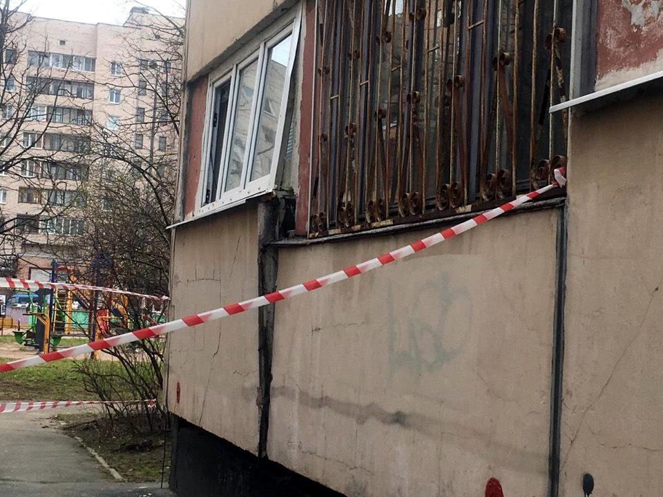Гражданский проспект 120 повреждение дома панель