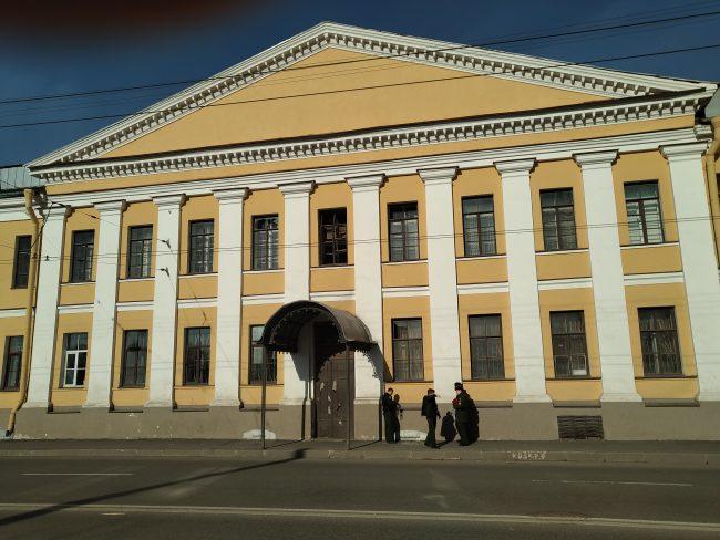 На территории Военно-космической академии имени Можайского произошёл взрыв. Онлайн