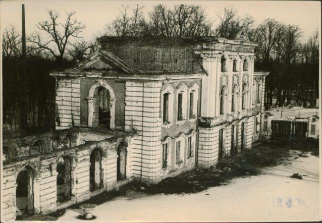 разрушенный Церковный корпус 1948
