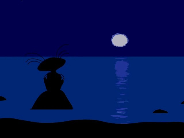масяна, луна, залив, финский залив, море