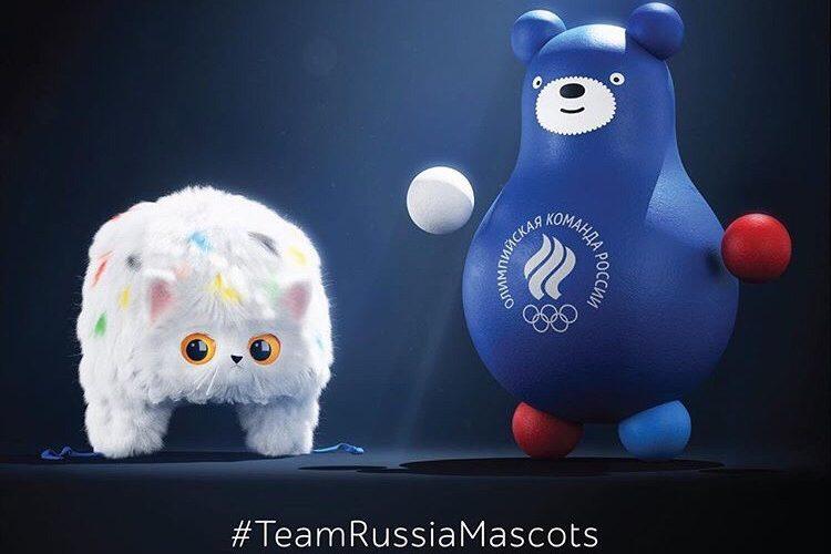 талисманы олимпийской сборной россии студия артемия лебедева