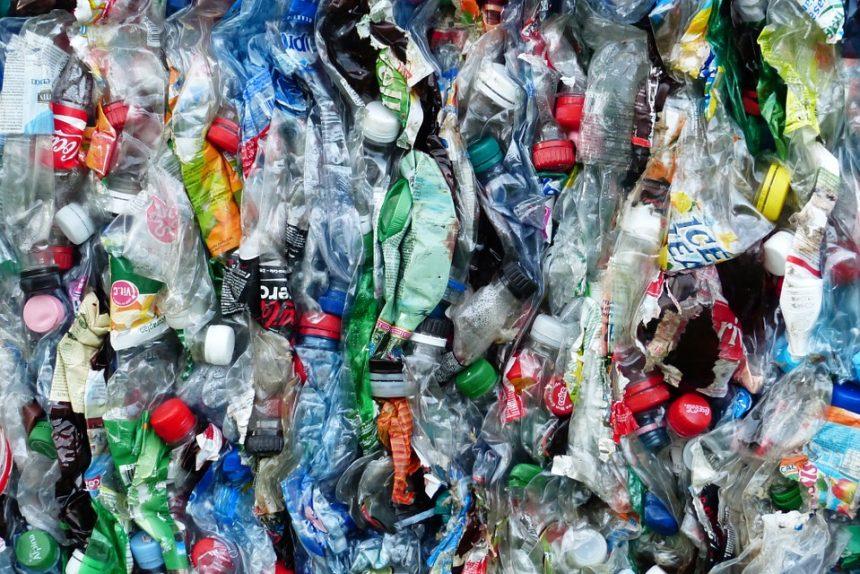 пластик бутылки мусор