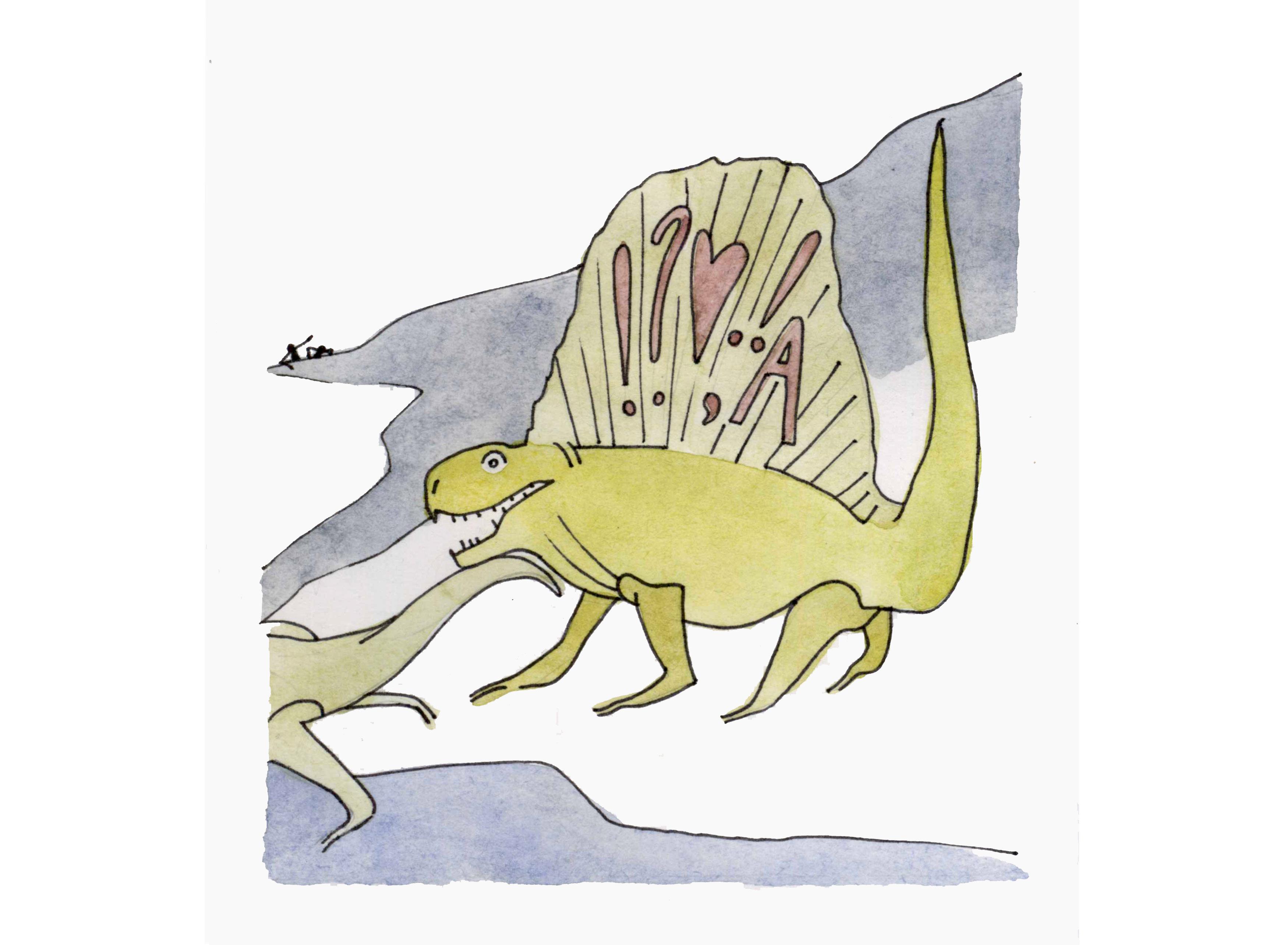 динозавр, Скучас