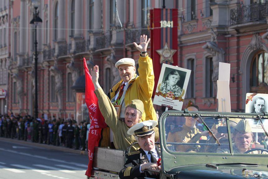 На оформление Петербурга ко Дню Победы выделят около 60 млн рублей