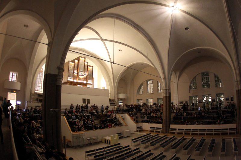 Ночь музеев Петрикирхе немецкая лютеранская церковь