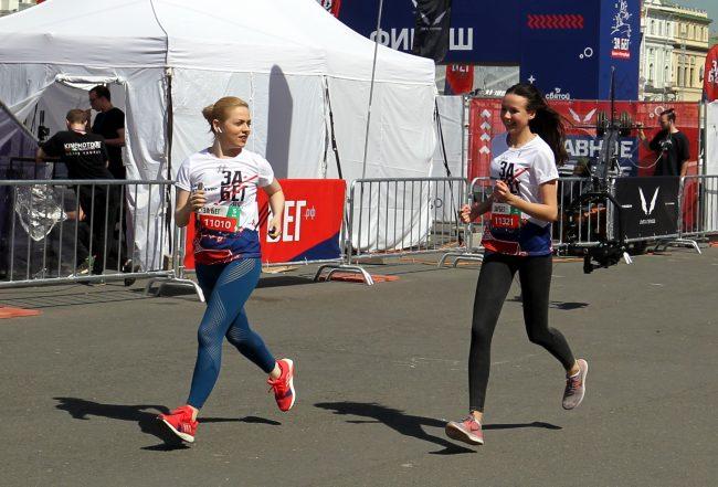 спорт лёгкая атлетика полумарафон ЗаБег