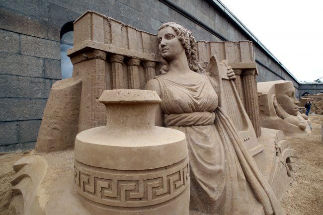 фестиваль песчаных скульптур Атлантида